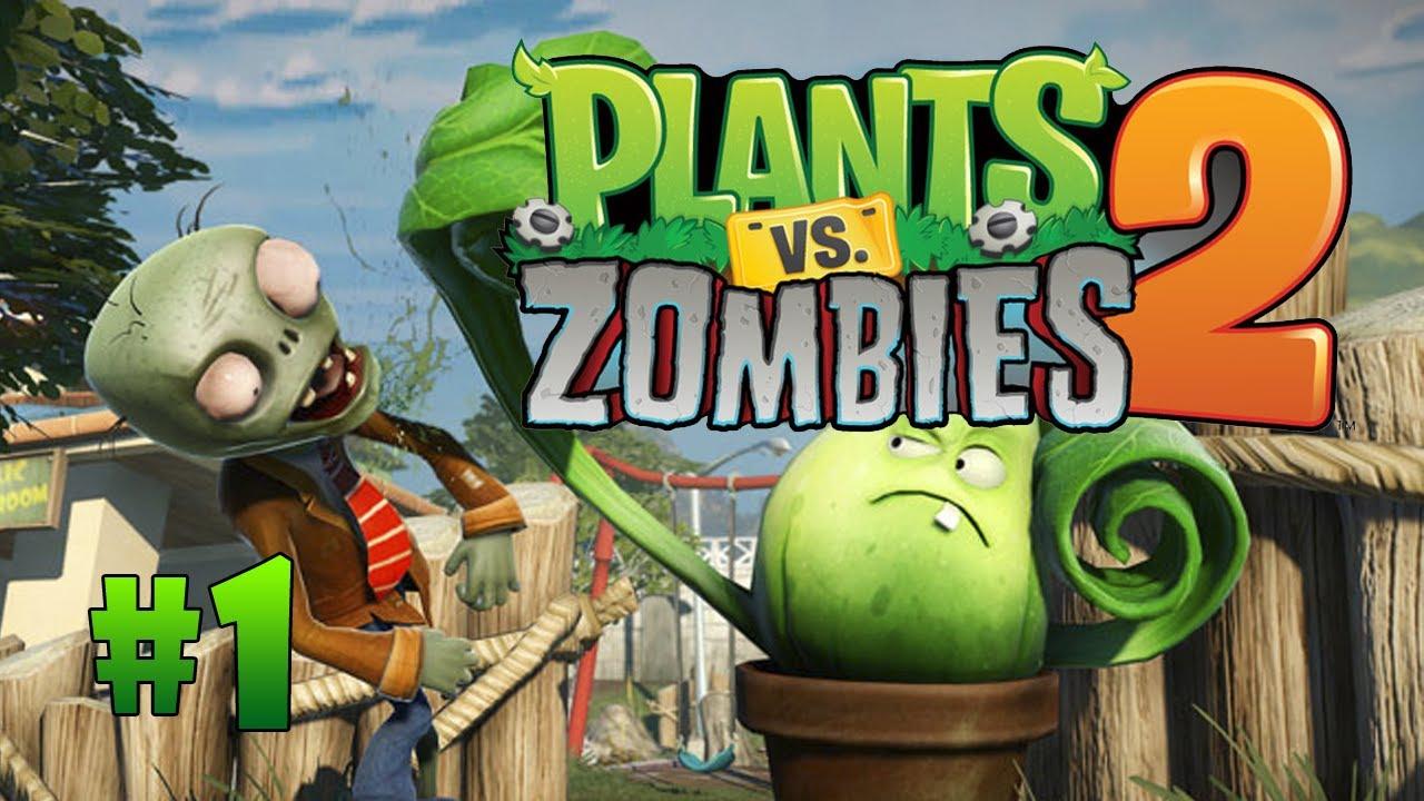 зомби против растений картинка