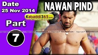 Nawan Pind Tapprian (Nawanshahr) Kabaddi Tournament 28 Sep 2014 Part 7  By Kabaddi365.com