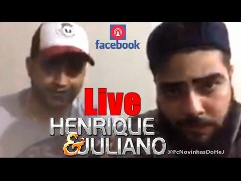 Live Henrique e Juliano !