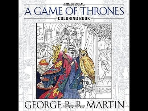 The Official A Game Of Thrones Coloring Book PDF DOWNLOAD