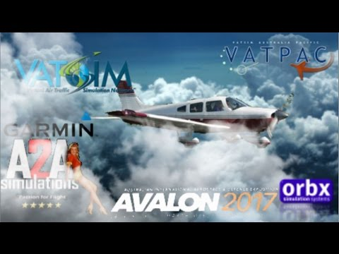 (FSX) VFR in IMC? A2A Piper PA28 Virtual-HTM heads to Avalon Airshow YAVE