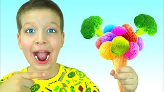 Do You Like Broccoli Ice Cream Song - Nursery Rhymes and Kids Songs from Max