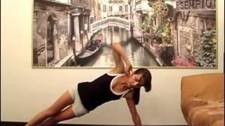 Видео урок эффективной фитнес тренировки из планок!