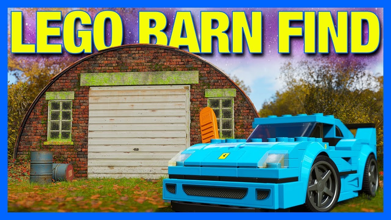 Forza Horizon 4 Lego Let S Play Lego Barn Find Part 5 Youtube