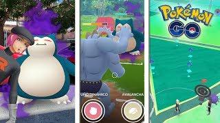 ¡GANO a 3 SNORLAX OSCUROS! TODO mi EVENTO de  INVASIÓN del TEAM ROCKET en Pokémon GO! [Keibron]