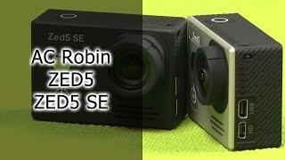 Обзор экшн-камер AC Robin ZED5 и ZED5 SE