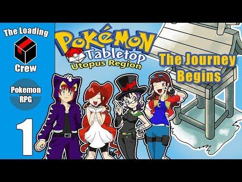 Pokemon Tabletop Adventures - Utopus Region - Episode 1