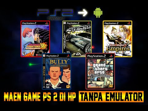 GAME PS 2 YG BISA LO MAININ DI HP TANPA EMULATOR- Sector Gaming PART 1