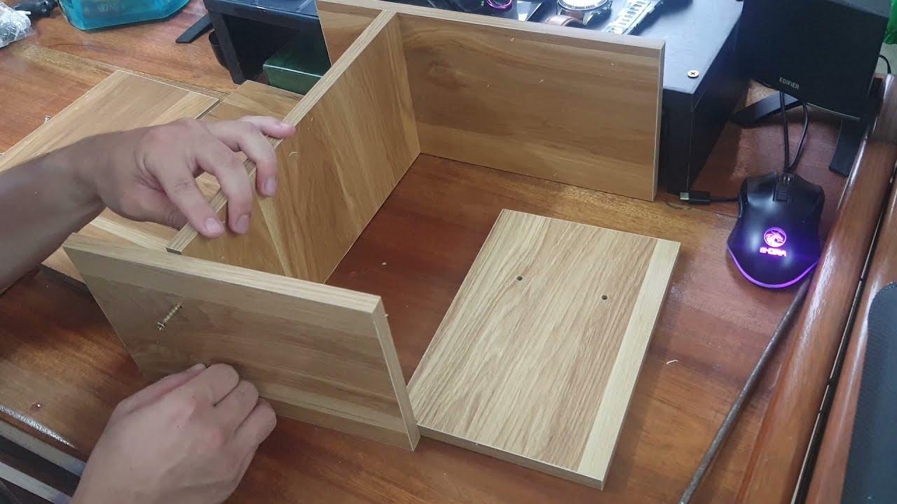 LẮP ĐẶT KỆ SÁCH ĐỂ BÀN // SETUP A TABLE BOOKSHELF
