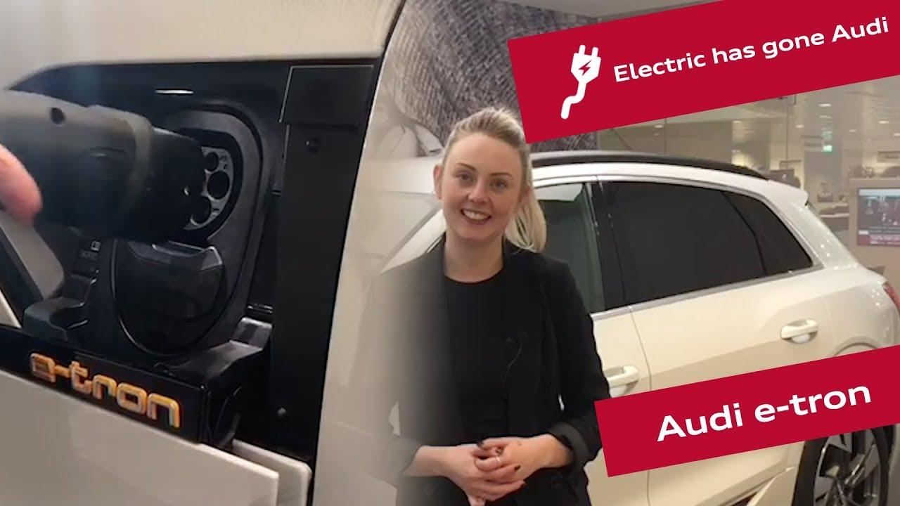 The Fully Electric Audi E-tron