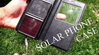 how to make a solar phone case