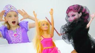 София Прекрасная помогает Барби - Игры для девочек
