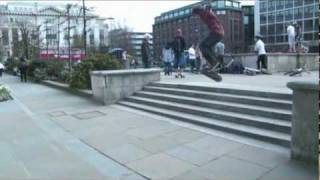 Skateboarding, A Day Out In London