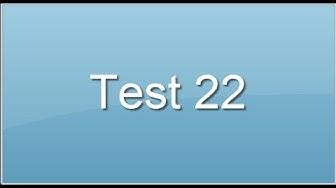 Test 22. Les tests psychotechniques utilisés en recrutement.
