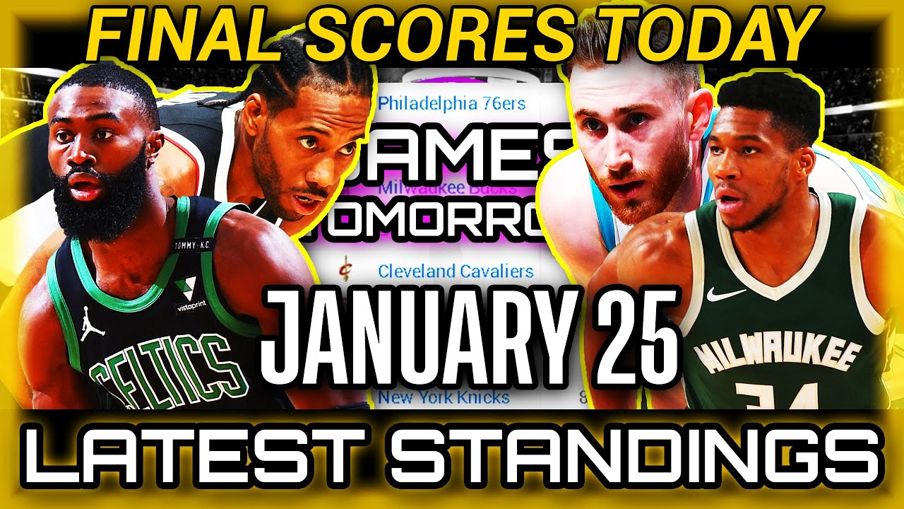 Download NBA Updates Today | January 25, 2021 | Final Scores | Games Tomorrow | Latest Standings | Fast Recap