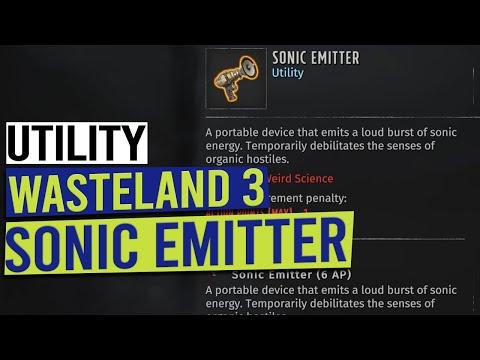 Sonic Emitter Unique Utility Item Location - WASTELAND 3