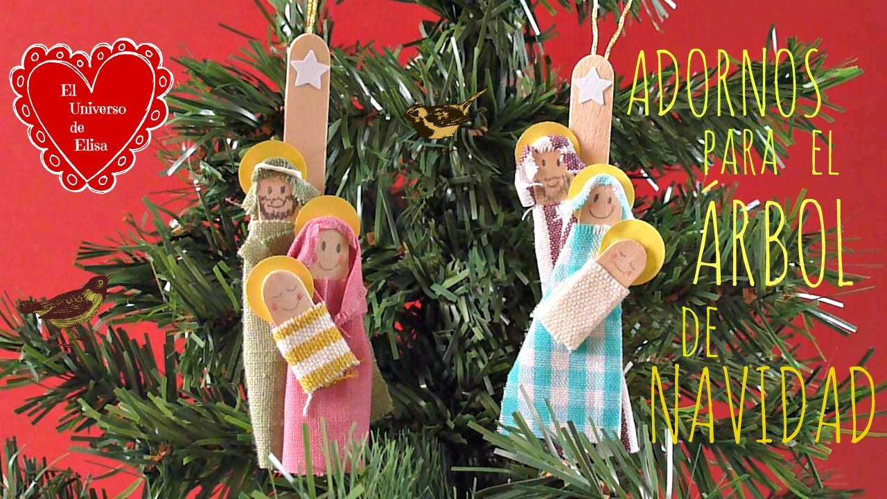 Manualidades para navidad adornos navide os con palos de for Manualidades para hacer adornos de navidad