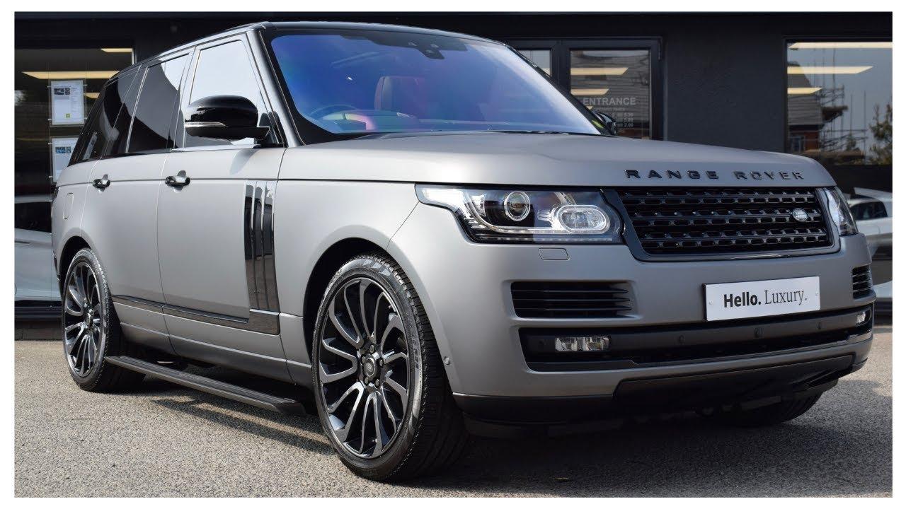 Matte Range Rover >> Matte Grey Yiannimize Wrap Range Rover 3 0 Tdv6 Autobiography Svo Hillmoren