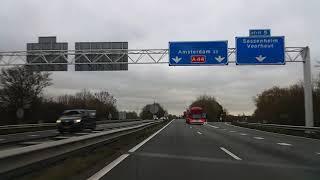 Dashcam Beelden Wassenaar:  A44 Beginpunt ----》Nabij Abbenes.