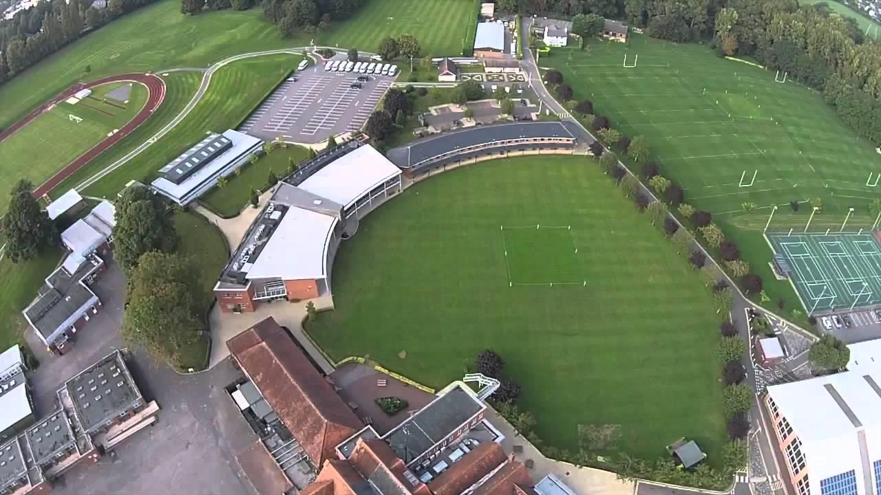 An eye in the sky video of St George's College, Weybridge - YouTube