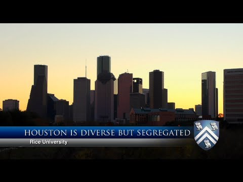 Houston diversity and segregation