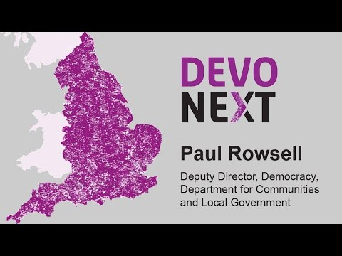 Paul Rowsell on Devolution
