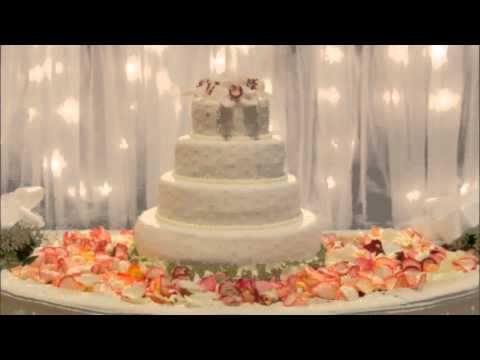 Ideas for wedding cake table decorations youtube ideas for wedding cake table decorations junglespirit