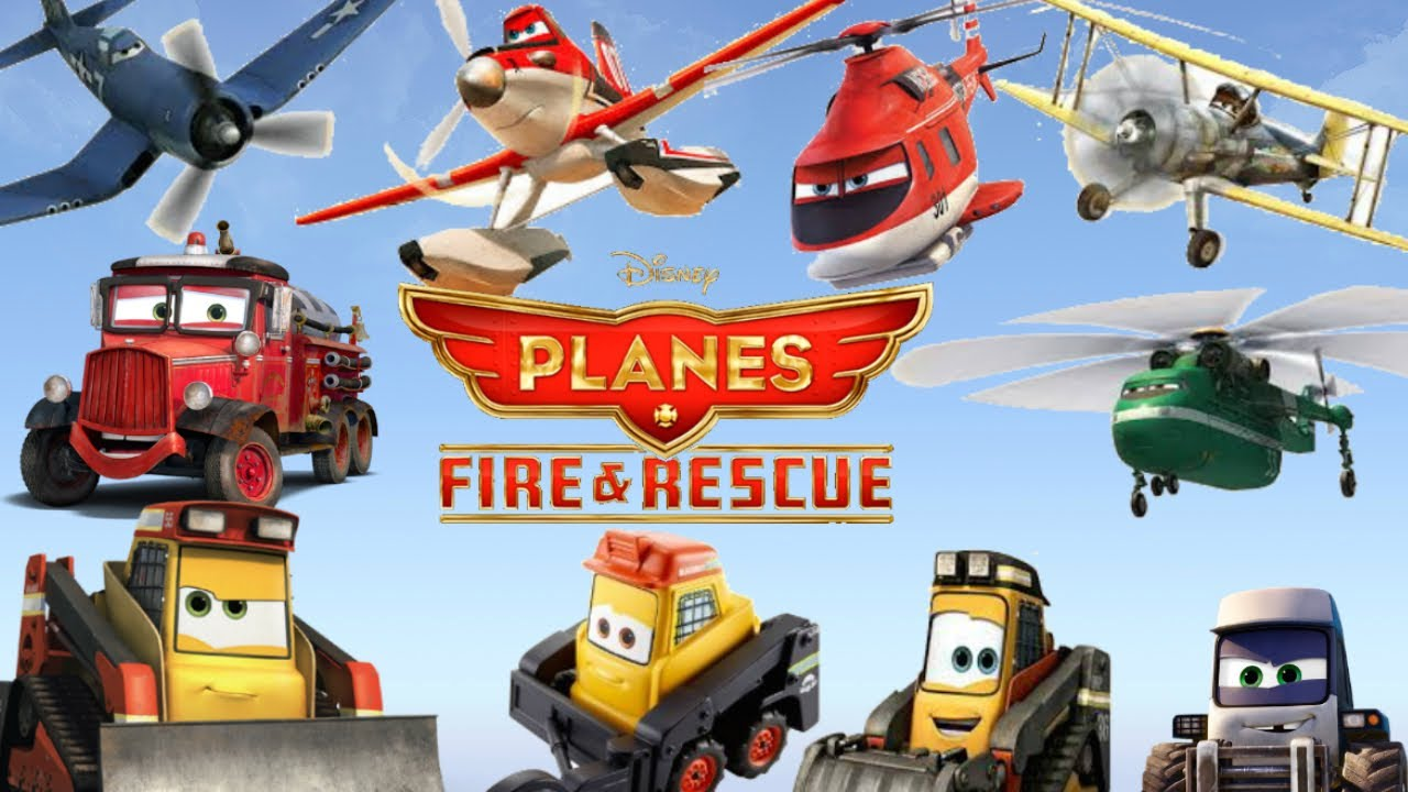 Disney planes fire rescue 11 new diecast characters w disney planes fire rescue 11 new diecast characters w smokejumpers short ver youtube voltagebd Choice Image