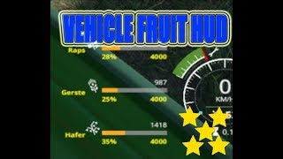 "[""VehicleFruit Hud V 0.2 Beta"", ""VehicleFruit Hud"", ""Mod Vorstellung Farming Simulator Ls19:VehicleFruit Hud"", ""Mod Vorstellung Farming Simulator Ls19:VehicleFruit Hud V 0.2 Beta""]"