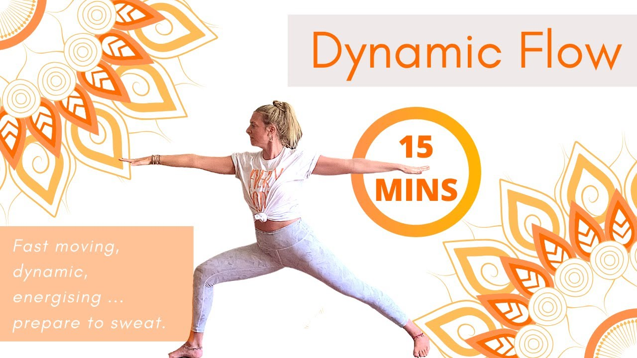 Best 15 Mins Dynamic Flow | Power Yoga | Funky Moves