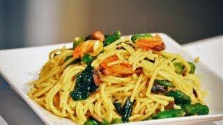 Asparagus & Kale Vegetarian Pasta