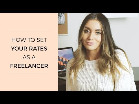 How to Set Your Rates as a Freelancer