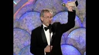 Steven Spielberg Wins Best Director Motion Picture - Golden Globes 1999