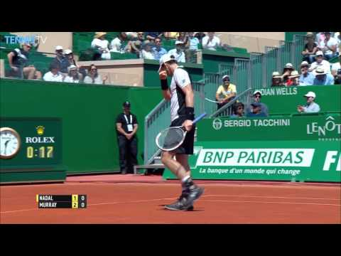 Murray Keeps Nadal On Back Foot With Hot Shot In Monte Carlo 2016