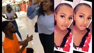 DJ CUPPY MAD AT BRODA SHAGGY FOR PROPOSING TO A LADY PUBLICLY