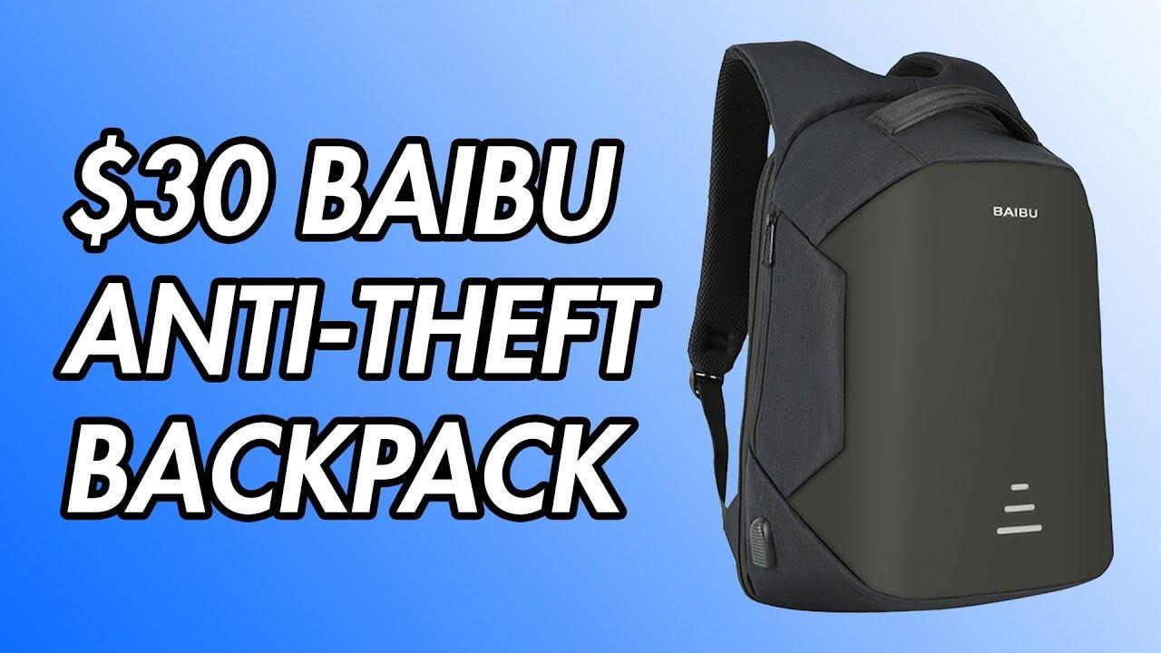 dd8b5aef523e $30 Baibu Anti-Theft Backpack Review!