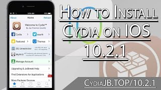 How to install cydia on iOs 10.2.1 - Install Cydia newest release 2017
