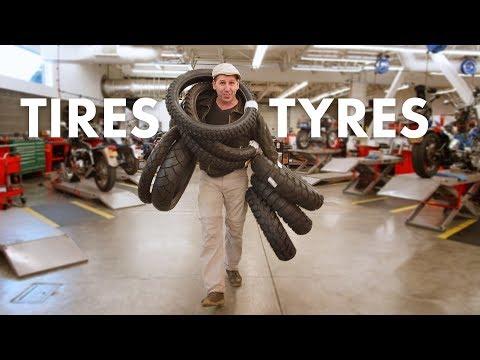 Adventure Motorcycle Tires 101