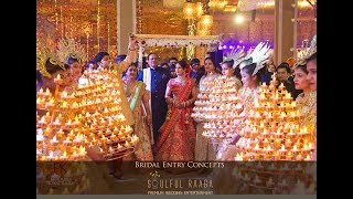 Bride Entry by Ankit Batra | Soulful Raaga | New Innovative ways to enter your Wedding Day