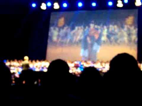 joe-hisaishi-charity-concert-in-paris---mononoke-hime