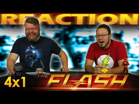 "The Flash 4x1 PREMIERE REACTION!! ""The Flash Reborn"""