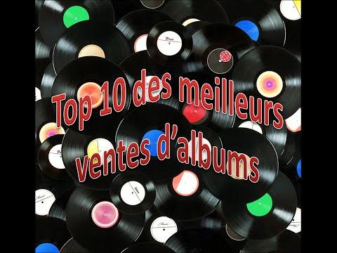 Top 10 des meilleurs ventes d'albums-TheBestSound