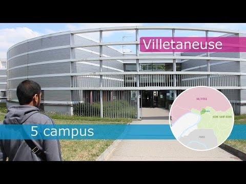 Présentation de l'Université Paris 13