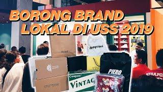 Borong Brand Lokal Di Urban Sneakers Society 2019!! Vlog!
