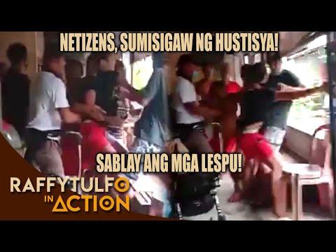 VIRAL VIDEO NG PAMILYANG KINASAHAN AT HINAKOT NG MGA PULIS SA PRESINTO, INAKSYUNAN!