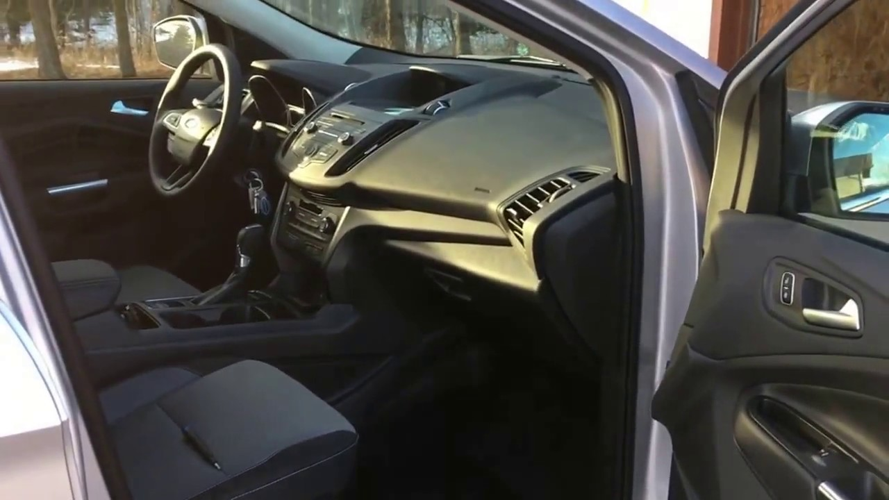 2017 Ford Escape Cabin Air Filter Youtube