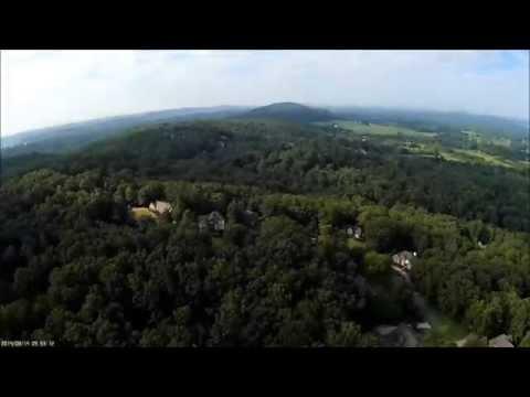 CX-20 drone - aerial view around Cleveland TN