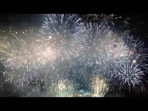 Paris feu d'artifice 2013 Bouquet Final