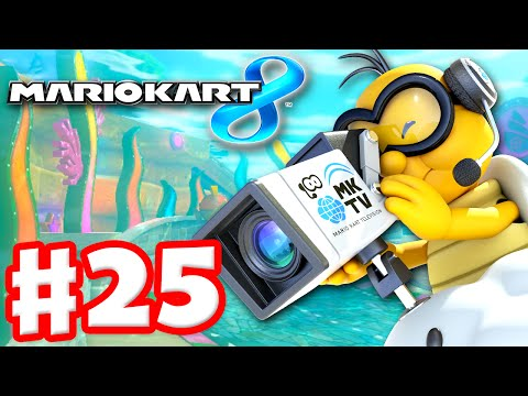 Mario kart 8 gameplay part 25 mirror mushroom cup for Mirror gameplay walkthrough