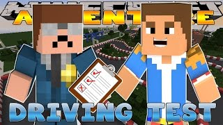 Minecraft - Little Donny Adventures - DRIVING TEST TO GET OUT OF JAIL